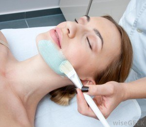 Facial Application by Beautician