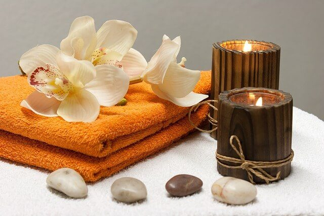 Beauty Therapy Towels & Candles