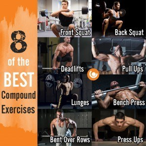 eight compound exercises