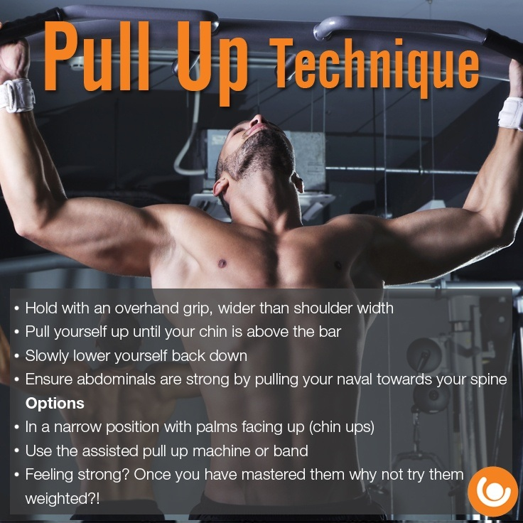 Pull up technique