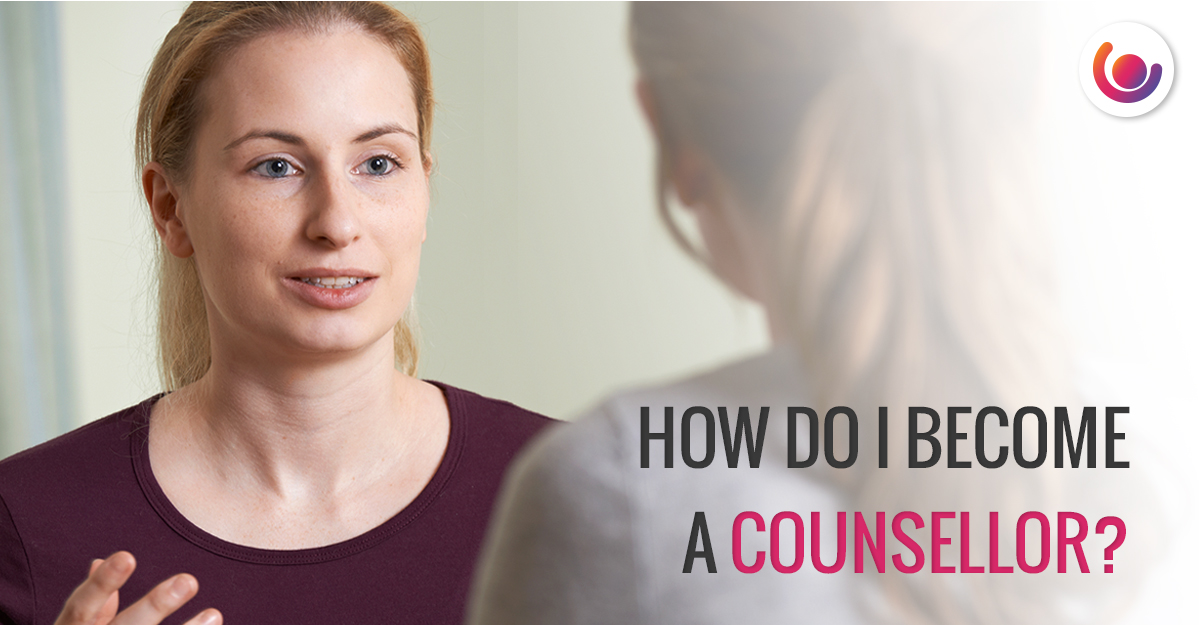 Counsellor talking to a patient