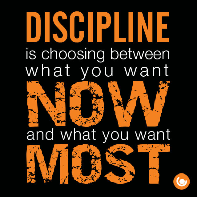 Discipline Quote The Training Room