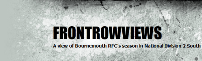 Bournemouth RFC Front Row Views Banner