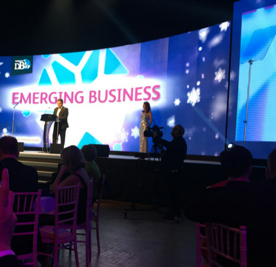 Paul Arnold Presents the Emerging Business Award
