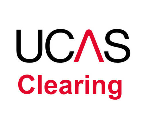 UCAS clearing logo