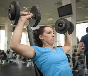 Girl-lifting-weights