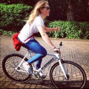 Jess-Varnish-On-Bike