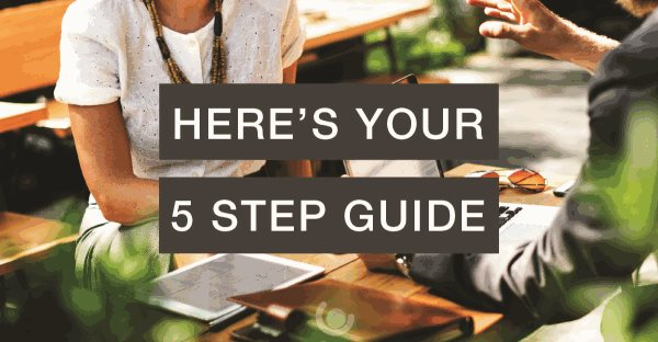 Get a job you'll love 5 step guide