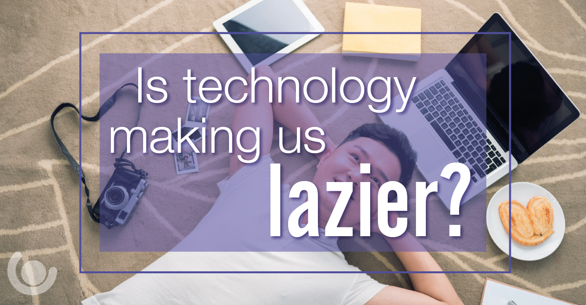 has technology made us lazier Also on the opposing side was genevieve bell, vice president of corporate strategy at intel, who maintained that smart technology has made us more responsive and engaged.