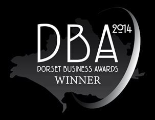 Dorset Business Awards Winner logo 2014