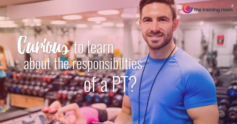 Personal Trainer in a gym